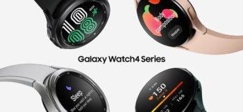 Samsung a dévoilé les Galaxy Watch 4