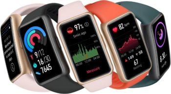 [Màj : disponible] Huawei dévoile le Band 6, un bracelet connecté aux faux airs de smartwatch