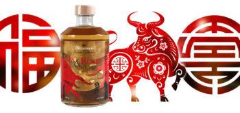 Nouvel An Chinois 2021 avec la Ox Roses de Massenez